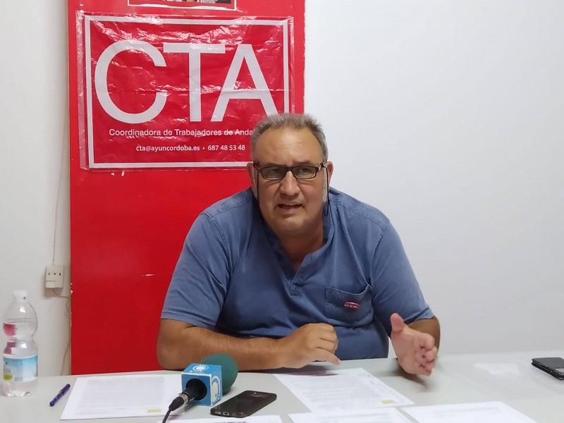 Francisco Moro durante su comparecencia de ayer