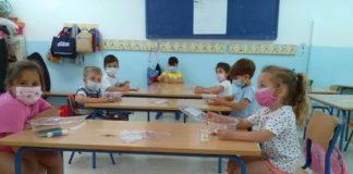Los niños durante una actividad en el campamento de verano